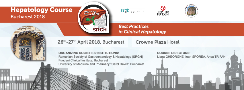 5th UpDate on Hepatology Course Bucharest 2018, Romania