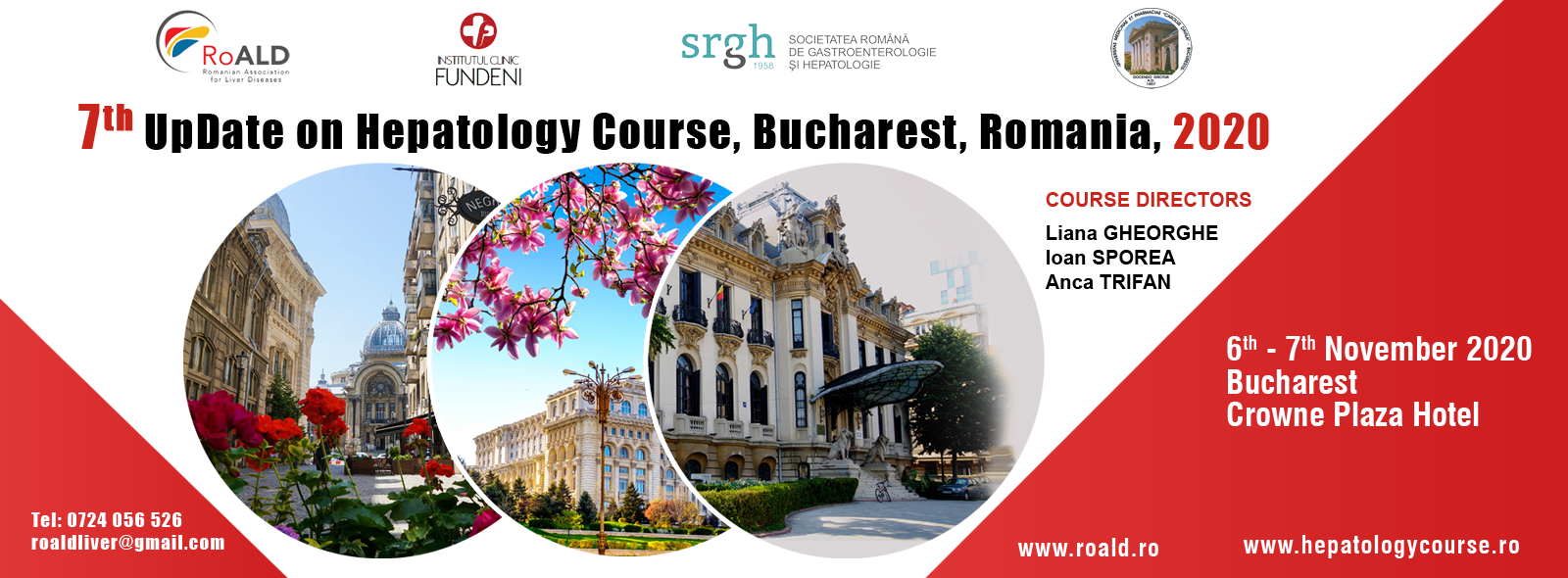 7th UpDate on Hepatology Course Bucharest 2020, Romania